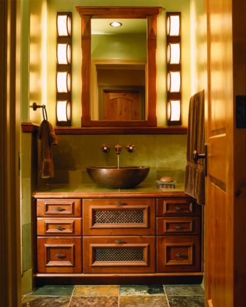 The Best Possible Lighting For Activities In Front Of The Bathroom Mirror  Comes From Fixtures Mounted On Either Side Roughly At The Useru0027s Eye Level.