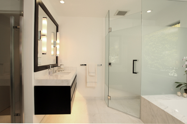 2015 Design Awards winner, California, Arch-Interiors Design Group, vanity and shower