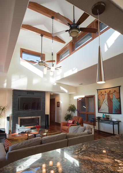 2015 Design Awards winner, Denver, Colorado Sunroom & Window with Doug Walter, Godden | Sudik Architects, living room