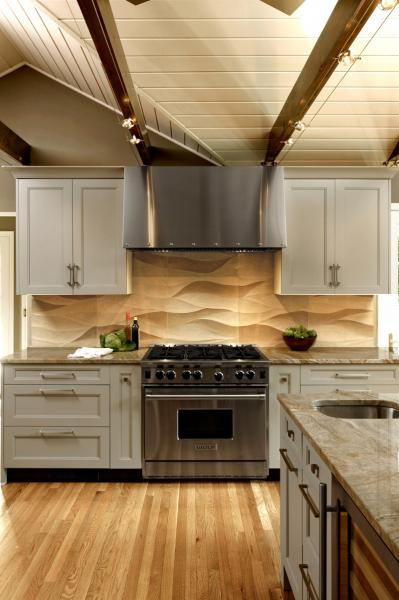 Natural Stoneu2014whether Quartz Or Graniteu2014is Still The Top Choice For  Countertops. These Homeowners Chose Quartzite Countertops In A U201cMother Of  Pearlu201d Color ...
