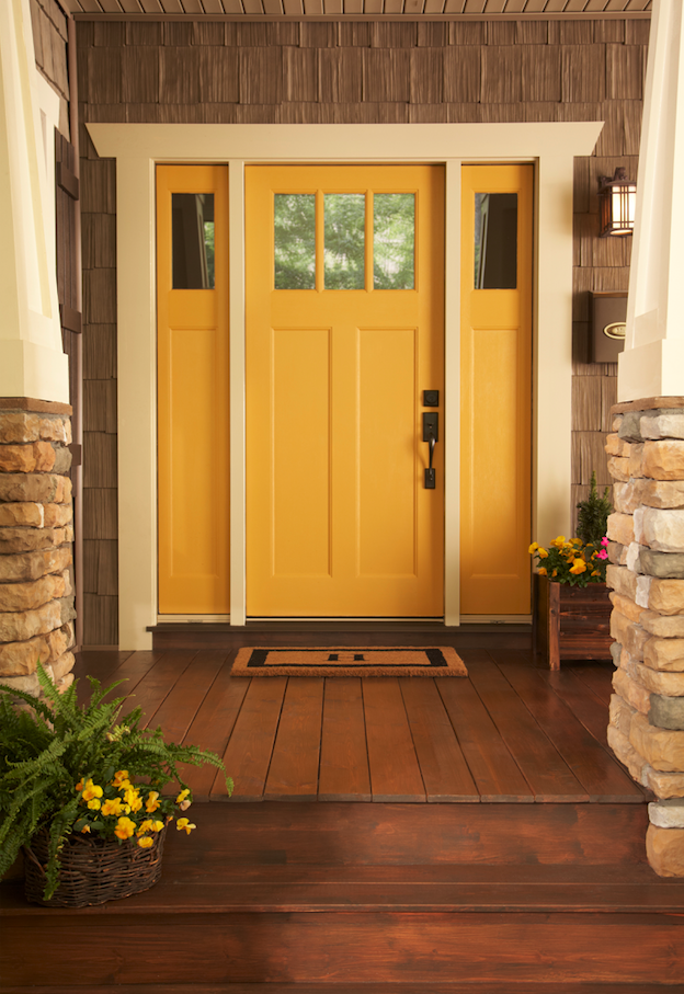 Front Door Colors For Yellow House Home Design