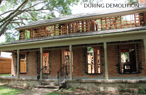 2015 Model ReModel demolition