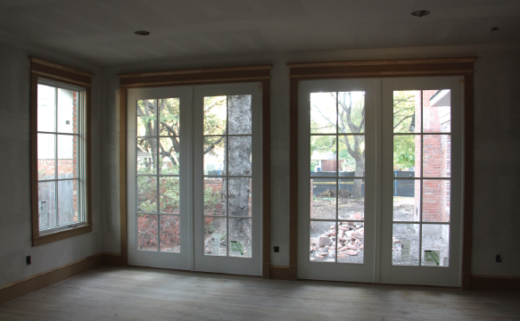 2015 Model ReModel French doors