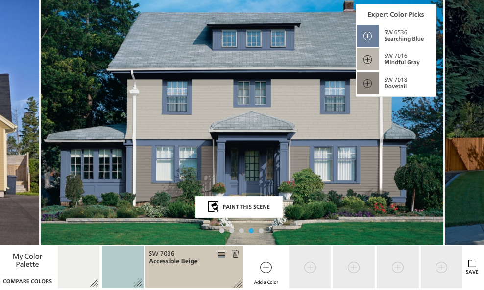 sherwin williams exterior paint visualizer