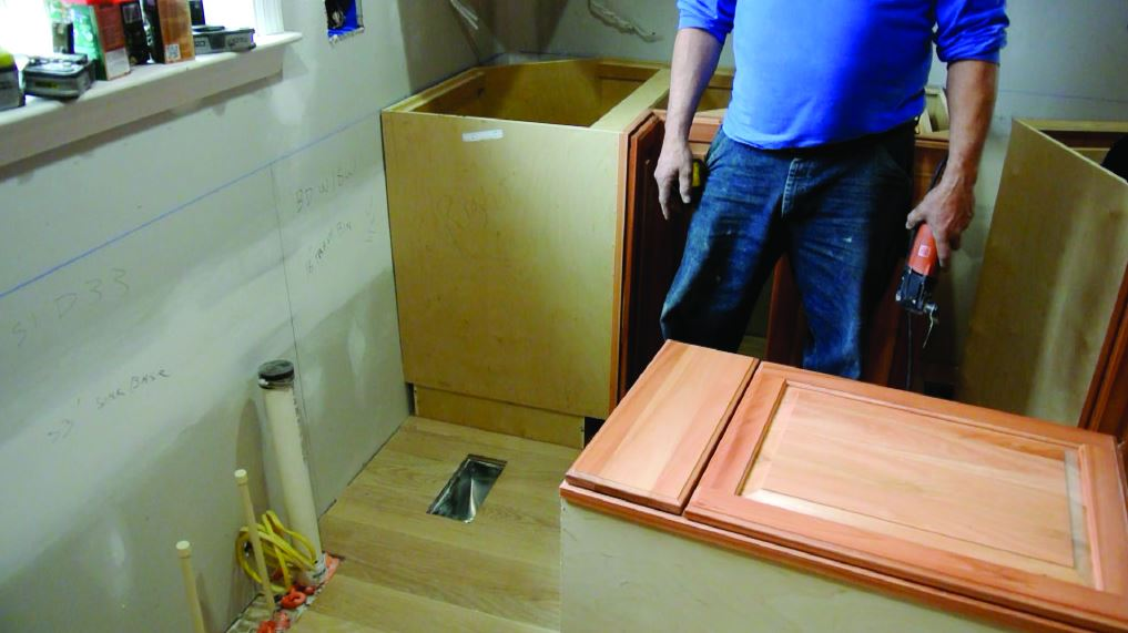 how to build a custom toekick deflector | pro remodeler