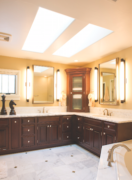 Bathroom Lighting Design re bath of the triad bathroom lighting design 101 re bath of the triad 1
