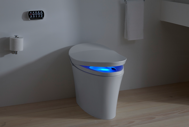 Kohlers Veil A One Piece Toilet With Integrated Bidet Is Newest Line Of Smart Toilets