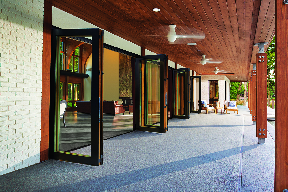 Top 100 products for 2017 windows doors pro remodeler for Marvin folding doors