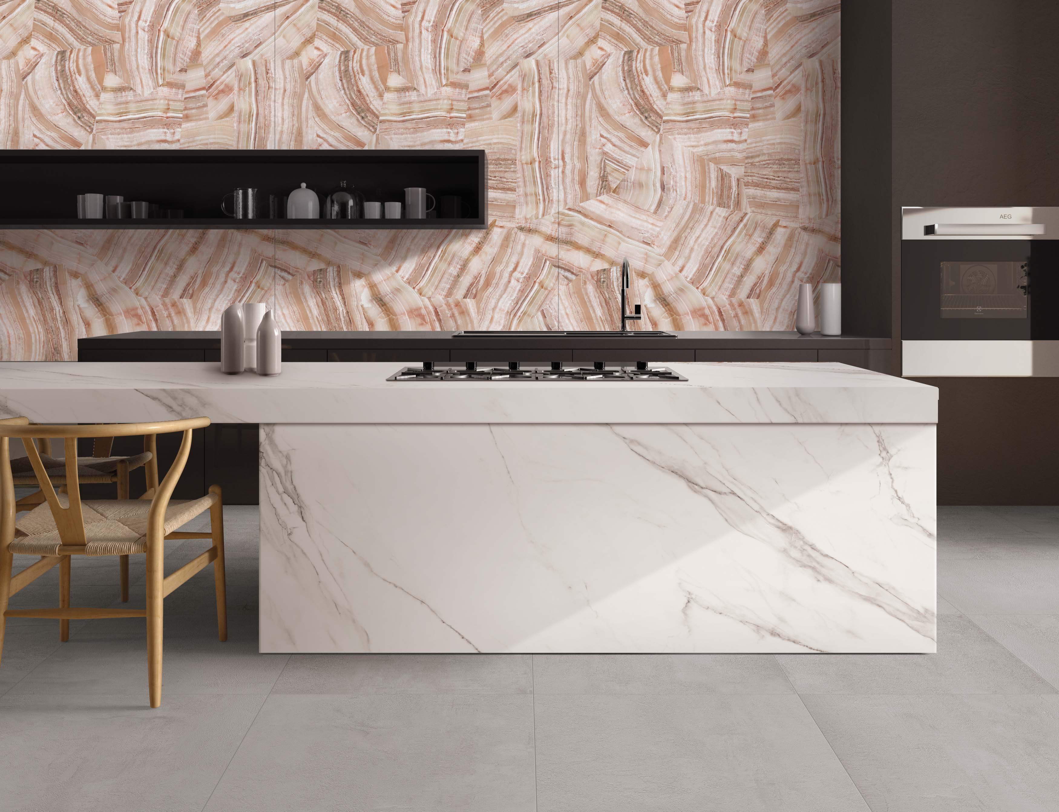 Italian tile products-Cersaie 2017-ABK Group-Onix Crossroad-Wide and Style