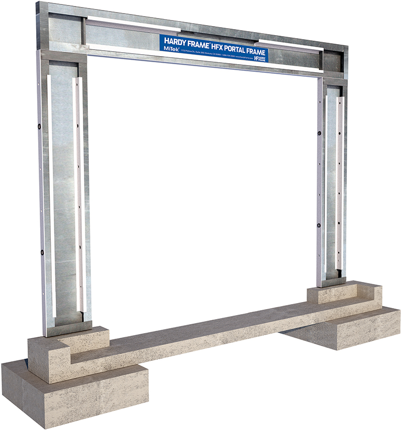 Innovative Products: Hardy Frame CFS Moment Frame
