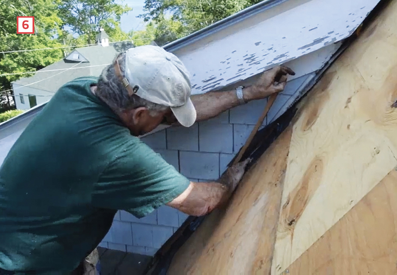 How To Slip Peel And Stick Roof Membrane Under Existing