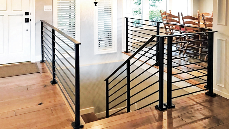 AGS stainless is a great rail option for remodelers