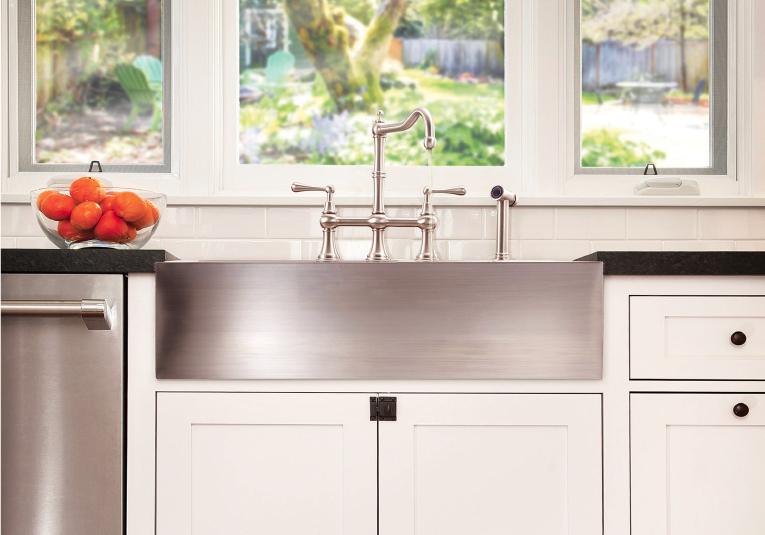 Innovative Products Lenova 9 Deep Apron Front Sink Pro Remodeler