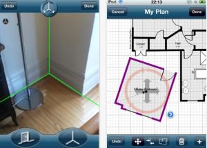 MagicPlan allows users to measure, draw, and publish interactive floor plans on
