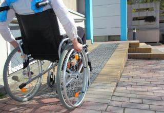 universal design wheelchair ramp remodeling
