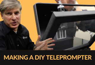 How to Make a DIY Teleprompter