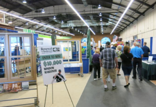 home show attendees