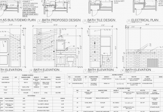 example of specifications for a remodeling project by Otagawa-Anschel Design+Build