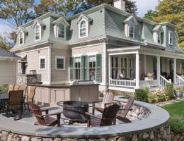 2015 Design Awards winner, Platinum, Historical Renovation, New England, Davitt Design Build