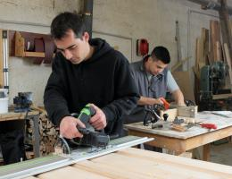 vocational training is being ensuredd by grant from home depot foundation and NAHB to HBI and  skilled labor fund