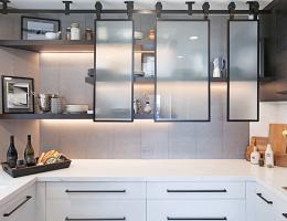 new kitchen design is going away from white