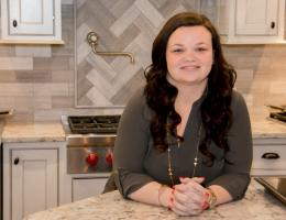 Samantha Bowen, Interior Designer at Bowen Remodeling & Design, in Crofton, Md., 2016 Professional Remodeler 40 Under 40 awardee