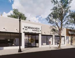 normandy remodeling's new showroom