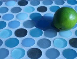 Fireclay Tile Crush recycled glass tile
