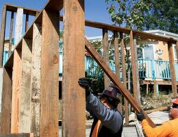 salvaging materials can be a good way for remodelers to save money and stay green