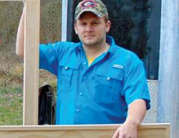 Zechariah Johnson, Renovation Specialist at Southern Home Improvement, in Chatsworth, Ga., 2015 Professional Remodeler 40 Under 40 awardee