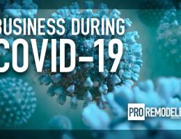 covid-19 is affecting remodelers