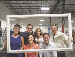 thompson creek windows employees with Mary Walter