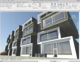 Revit exterior of building