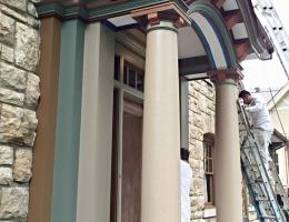 Neighborhood Painting Roanoke Archway
