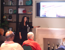 Remodeling educational seminar taking place at Custom Design & Construction, in suburban Los Angeles.