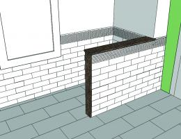 a screenshot of sketchup in action