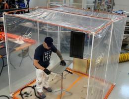 PaintLine Portable Jobsite Spray Booth