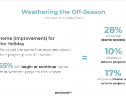 Modernize webinar with pro remodeler managing editor james mcclister on weathering the off season