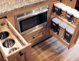 wellborn cabinets hidden pullouts