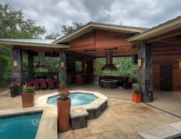 Outdoor living project by CG&S Design-Build