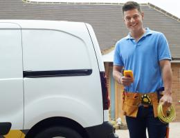 home improvement guy with a truck