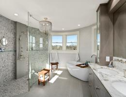 Rhode Island Kitchen and Bath Curbless Shower