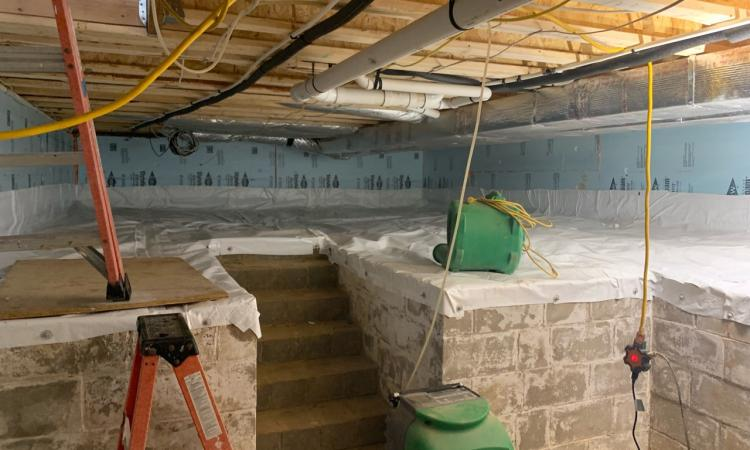 Crawlspace To A Basement, How Long Does It Take To Dig Out A Basement