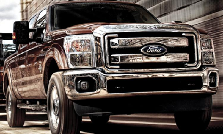In August Ford up-rated the 6.7-liter Power Stroke diesel just introduced in Apr