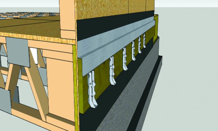 3 ] Select joist hangers one size down from the joist depth