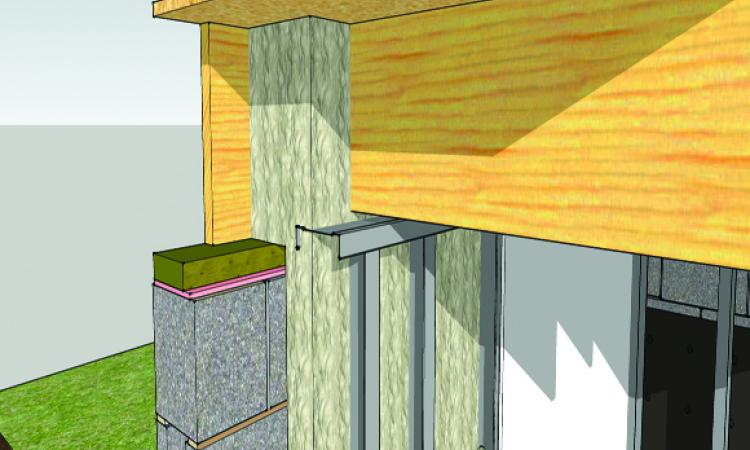 [3] The rim joist is a big source of heat loss. Unless you use SPF, which creates an air seal, caulk the seams in the framing first, then use any kind of insulation against the rim joist.