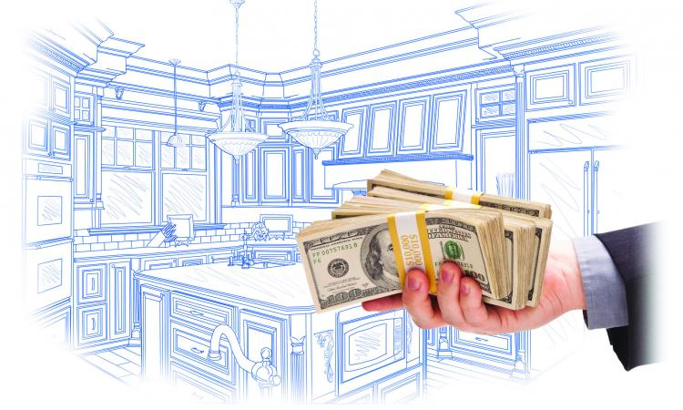 Giving too much money for kitchen remodel to over-qualified lead