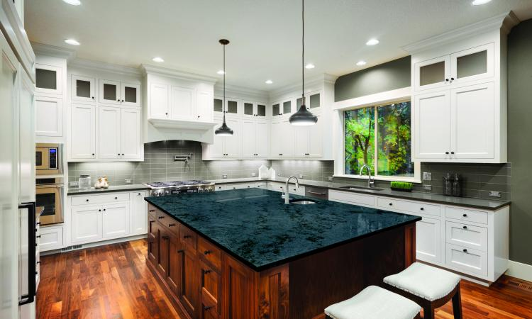 Recessed kitchen lighting reconsidered pro remodeler whats wrong with this kitchen lighting scheme can lights located in aisles cast shadow on tasks when the cook stands at the counter aloadofball Images