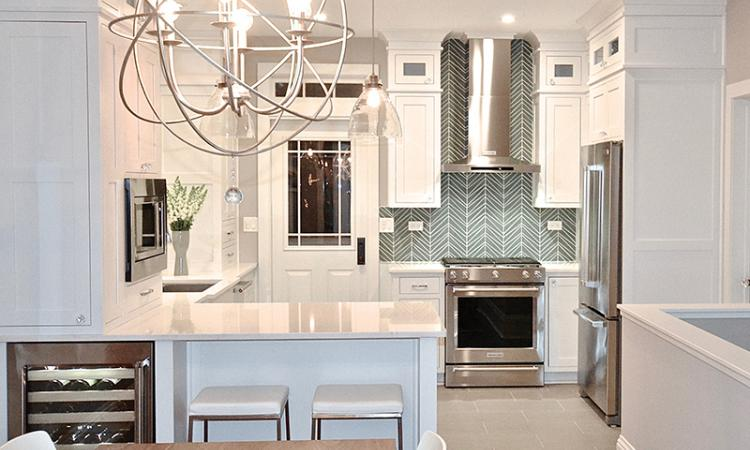 a kitchen designed by Danielle Burger