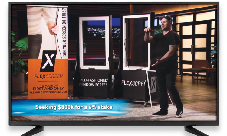 flexscreen manufacturer on shark tank